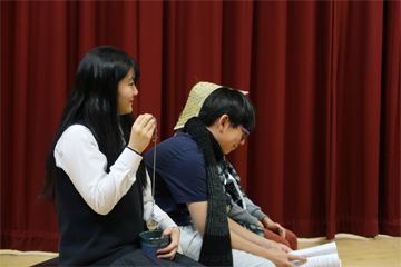 Royal Grammar School との合同演劇企画「From Alice to アリス」〈1月25日(土)〉