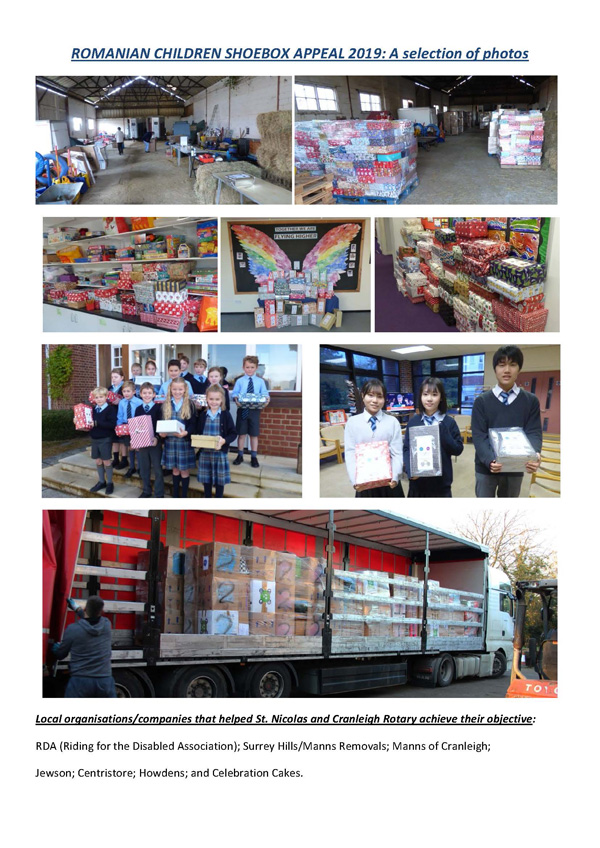 ROMANIAN CHILDREN SHOEBOX APPEAL 2019: A selection of photos