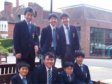 2学期始業、再び全校生徒がイギリスに集まりました。