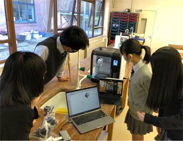 3Dプリンター 使用開始!